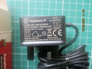 Raspberry Pi GB Plug Official USB-C Power Supply - Black