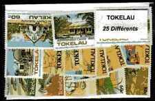 Tokelau 25 timbres différents