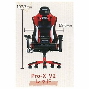 SO-TA Miniature AKRacing 1/12 Pro-X V2 Capsule Chair High Quality Dollhouse 1