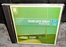 Taking Back Sunday - Tell All Your Friends (CD, 2002) FAST & FREE
