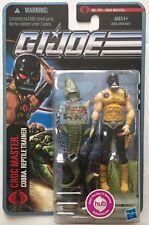 "CROC MASTER Cobra GI JOE The Pursuit Of Cobra 2010 3.75"" Inch Action FIGURE"