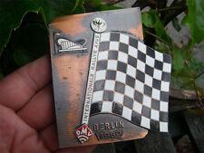 ADAC GERMANY DEUTSCHLAND - AVUS RALLYE BERLIN Badge Plakette 1960