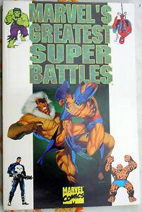 MARVEL'S GREATEST SUPER BATTLES Thor Hulk Spidey Punisher TP FP X-Men 1994 NF