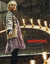 PUBLICITE ADVERTISING 094  2009  CATIMINI   vetements enfants