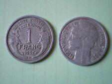 PIECE DE 1 FRANC 1957 B  MORLON en  ALUMINIUM