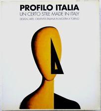PROFILO ITALIA - DESIGN MADE IN ITALY - 1°ed. 1990 - ALDO ROSSI, SOTTSASS, MARI