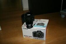 Fotocamera Canon EOS 500d reflex digitale + obiettivo 18-55 IS + accessori