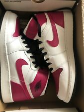 Air Jordan 1 Retro High Gg White Black Sprt Fuchsia 8.5y Men 8.5