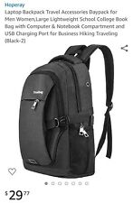 Laptop Backpack Travel Accessories Daypack for Men Women,Large Lightweight...