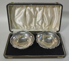 Antique Sterling Silver Bowls Adie Bros England Tangier