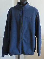 Mens 3XL XXXL Timberland Full Zip Fleece Jacket Blue