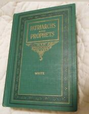 ☆Like NEW PATRIARCHS AND PROPHETS CONFLICT OF AGES 1927  BOOK ELLEN  G.WHITE SDA