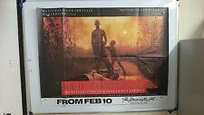 Red Sorghum Original UK Quad Movie Film Poster 1987 Chinese Rare