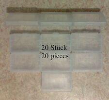 20 Cartridge cases (hülle, hüllen) Game Boy Advance GBA - protection plastic box