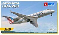 BPK 14402 - 1/144 - Regional plane BPK 14402 Bombardier CRJ 200 plastic model