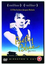 Betty Blue Director's Cut DVD Beatrice Dalle Jean Hugues UK Rele New Sealed R2