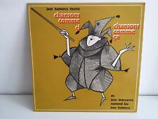 JEAN HUMENRY Chansons comme ci chansons comme ca DEBRUYNNE RAYMOND FAU SM30 391