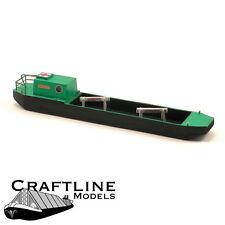 Craftline Models CMB42 - Covered Narrow Boat Balsa Wood Kit OO Gauge/4mm -1st