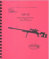 ARMALITE AR-5O RIFLE OPERATOR'S INSTRUCTIONS MANUAL AR50 FS