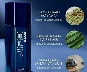 Jafra JF9 Blue Cologne For Men 100 ml 3.3 Fl New In Box