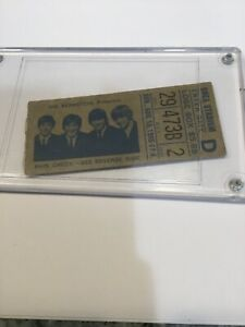 Concert Ticket Stub & Booklet Beatles  at Shea Stadium Ticket Aug 15, 1965