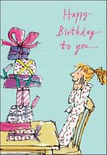 Quentin Blake Girls Birthday Greeting Card Popular Range Greetings Cards
