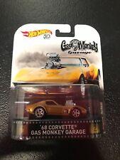 Hot Wheels Retro Entertainment '68 Corvette Gas Monkey Garage