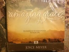 AMAZING GRACE PLUGGING IN TO GOD'S POWER IN YOUR LIFE 4 CDs NEW by JOYCE MEYER