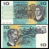 Australia 10 Dollars, ND(1991), P-45, UNC