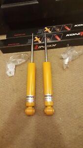 2X Rear shock absorber FORD MONDEO 4 / Volvo S80  Mk2  V70 Mk3   KONI 8240 1268