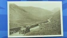 More details for kirkstone pass postcard 1920's vintage charabanc open top bus mayson's keswick