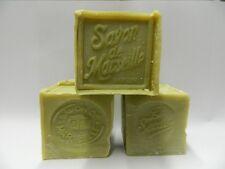 Lot 3 Savons de Marseille Cube 300Gr Olive authentique LE SERAIL