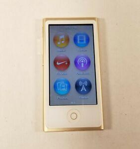 Apple iPod Nano 7th Generation - A1446 - 16GB - Gold - Works - Good Cond