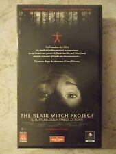The blair witch project (videocassetta vhs italia il mistero strega di Blair)