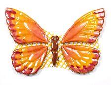 Mosaiksteine-SCHMETTERLING-Farbe:gelb-orange-rot-Variante:10-handmade