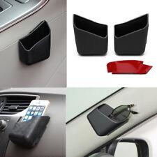 2X Universal Car Auto Accessories Glasses Organizer Storage Box Holder Black US
