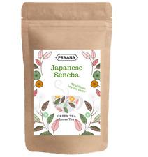 PRAANA TEA - Premium Japanese Sencha Green Tea - Catering Pack - 500 g