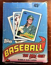 1989 Topps non-Ouvert Baseball Carte Cire Boite 36-Packs Sont Mint Randy Johnson