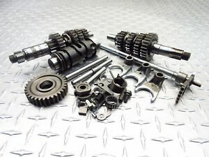 2009 09-11 HYOSUNG GV250 250 AQUILA TRANSMISSION GEARS GEARBOX ASSEMBLY OEM GOOD