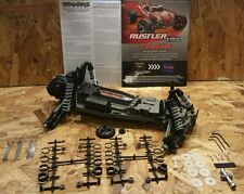 NEW 37054-1 TRAXXAS RUSTLER ROLLER XL-5 CHASSIS WITH EXTRAS