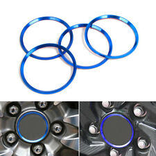 4x Aluminium Wheel Center Hub Ring Decorator Cover Trim For Honda Civic 2016-17