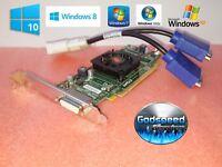 Dell OptiPlex 580 740 745 755 760 780 790 AMD HD Dual Monitor VGA Video Card