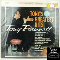 Tony Bennett ‎– Tony's Greatest Hits 1962 lp CS-8652 Jazz - NM