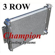 Champion Cooling Systems CC337 Radiador De Aluminio 1967-1969 Camaro/Firebird