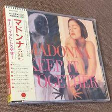 Sealed Promo MADONNA Keep It Together JAPAN 7-track CD WPCP-3200 w/ OBI Free S&H