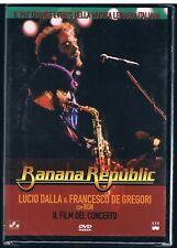 BANANA REPUBLIC LUCIO DALLA FRANCESCO DE GREGORI CON RON  DVD F.C. SIGILLATO!!