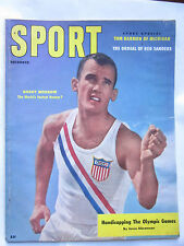 Sport Magazine Dec 1956 Bobby Morrow Olympics on Cover Vintage Ex Condition