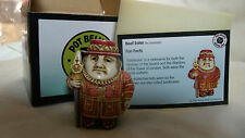 Beef Eater Pot Bellys Harmony Kingdom Chef New In Orig Box