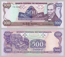 Nicaragua 500 Cordobas 1985 p155 unz.