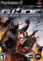 G.I. Joe: The Rise of Cobra (Sony PlayStation 2, 2009) Ps2 Tested